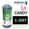 Концентрат кэнди DeBeer Colour Additive 1-097 (1л) черный crazy candy